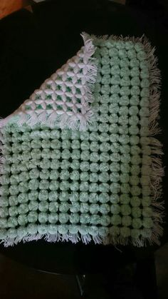 Brand new babies pom pom blanket only £15 pop over to my Facebook page Tracyspompomblanketsandknitteditems to see all my other items