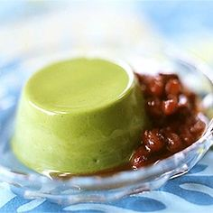 RECIPE: Matcha pudding