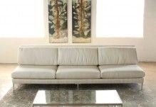 SF175 - Armless Sofa in Rafaelo Cream