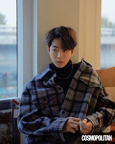StyleKorea — Nam Joo Hyuk for Cosmopolitan Korea December Nam Joo Hyuk Cute, Kim Joo Hyuk, Jong Hyuk, Korean Boys Ulzzang, Korean Men, Handsome Korean Actors, Handsome Boys, Asian Boys, Asian Men