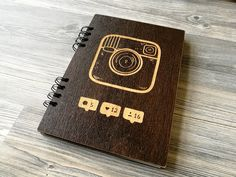 This unique wooden Journal Instagram is great for jotting down your thoughts, ideas, goals, to do lists, etc.  We made this beautiful wood notebook for a person who still love to write and draw their thoughts with a pen and paper. And we know how good it feels. But how would it feel to have absolutely personalized engraved pad? We checked – it's also good. So If you love using personal custom journal instead of apps or you know someone who does – this stuff will make a perfect present…