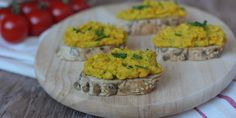 výborná, zdravá a rýchla pomazánka zo zásob Tahini, Baked Potato, Grains, Muffin, Potatoes, Rice, Breakfast, Ethnic Recipes, Food Ideas