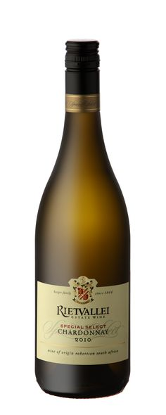 rietvallei-special-select-chardonnay Tasted 2010 vintage