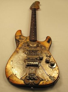 Chalicecaster // Tony Cochran Custom Electric Guitars I can't describe why I… Guitar Art, Music Guitar, Cool Guitar, Playing Guitar, Acoustic Guitar, Guitar Room, Custom Electric Guitars, Custom Guitars, Ukulele