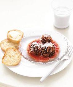 Meatballs Florentine | RealSimple.com