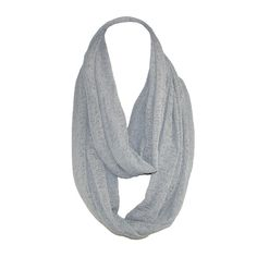 Distressed Lightweight Winter Loop Scarf by David & Young. Faded look $12.95
