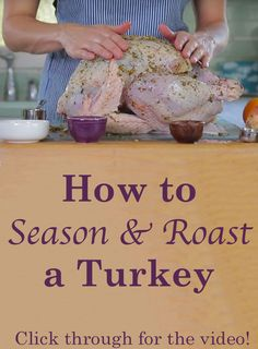 Here's how to cook a lean and healthy turkey for your family that is still juicy and delicious. Click through to watch the video and follow the steps to make a perfect Thanksgiving turkey. Use our recipe, or adapt your family's favorite recipe. // videos // recipes // beachbody // beachbody blog