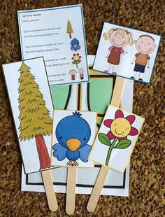 I Go To My Window Song & Printables for Preschool