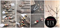 Get the tribal warmth with these cute jungle arrows. #DIY #TribalMix #SS15