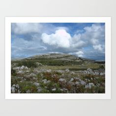 Mullaghmore II Art Print - Burren National Park, Co.