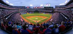 A view of Globe Life Park