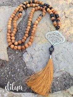 Halsketten von - dilua - schmuck und accessoires Tassel Necklace, Jewelry, Fashion, Czech Glass Beads, Silver Pendants, Gems, Handmade, Armband, Jewlery