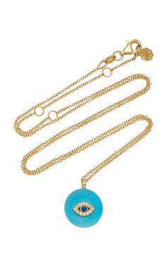 Coexist 18K Gold, Onyx And Diamond Necklace by Noush Jewelry | Moda Operandi Om Necklace, Pendant Necklace, Fine Jewelry, Jewelry Making, Fashion Jewelry Necklaces, Jewelry Trends, Gold Chains, Diamond Jewelry, 18k Gold