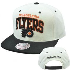 NHL Mitchell Ness Arch Throwback Logo Snapback Cap Hat NZ95 Philadelphia Flyers by Mitchell & Ness. $25.95. Mitchell & Ness brings you another cool, retro design with the Arch Throwback. It features a High crown retro shape and a Green undervisor. There's no mistaking which NHL team you're supporting with the super-sized, embroidered team name, and logo (raised embroidery) on the front. Mitchell & Ness logo embroidered on back panel and top button, visor, snapback and eyelets ...