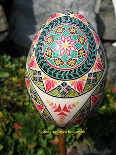 goose egg pysanka