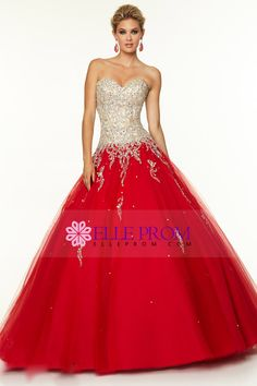 2015 Bicolor Sweetheart Quinceanera Dresses Ball Gown Floor-Length With Beads
