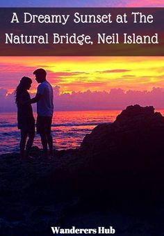 A photo essay capturing the gorgeous sunset we witnessed at The Natural Bridge in Neil Island, Andaman, India.
