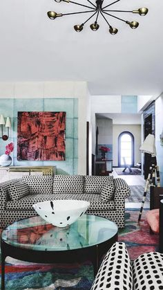 Living Room Colors, Living Room Lounge, Chic Living Room, Living Rooms,  Apartment