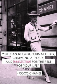 Quotes That Will Make You Feel Amazing The always beauty wise Coco Chanel. Inspiration for the day! be-The always beauty wise Coco Chanel. Inspiration for the day! Great Quotes, Quotes To Live By, Me Quotes, Inspirational Quotes, Style Quotes, Funny Quotes, Flirting Quotes, Amazing Quotes, Beautiful Day Quotes