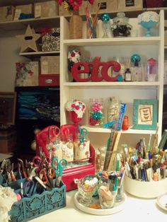 Make The Best of Things: Craft Studio Tour-Bottles and Boxes and Jars, Oh My!