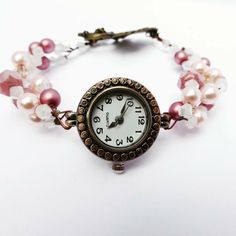 Gorgeous, unique bronze and berry style qaurtz watch, perfect for that special someone, I'm in love with this watch! Only one in my shop so once it's gone it's gone FOREVER! Link in my bio! #jewellery #handmade #rosegold #watchjewellery #watch #watchbracelet #braceletsforsale #gift #giftideas #giftsforher #personalisedgifts #personalised #personalisedjewelery #igers #igdaily #photooftheday #photo #love #loveit #inlove #highend #onlineshop #igshop #hobbycraft #etsyfinds
