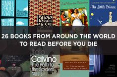26 Books From Around The World To Read Before You Die