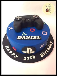 PlayStation Cake Boys 18th Birthday Cakes For Teens