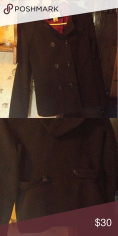 Cute Black Jacket!! I've worn this jacket when I was in high school.. The sleeves are a little too short on me now. The jacket is in great condition:) SO Jackets & Coats