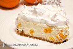 cheesecake-cu-mandarine Cheesecake, Deserts, Sweets, Food, Pie, Gummi Candy, Cheesecakes, Candy, Essen