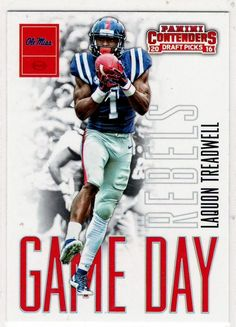 Football Trading Cards 2016 Panini Contenders ( Game Day) Laquon Treadwell