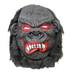 Our scary angry gorilla Halloween overhead mask is sure to casue quite a scare at your next Halloween party. Scary Halloween Masks, Scary Mask, Gorilla Costumes, Masquerade, Masquerades