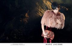 Marc Jacobs Fall 2013 Ads with Edie Campbell & Lily McMenamy