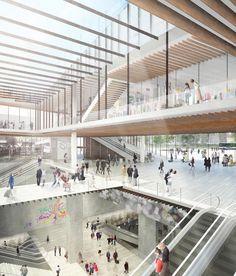 Kengo Kuma gana concurso para diseñar una estación de metro en París