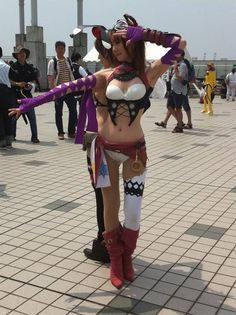 There's several Cosplay shows and and exhibitions held in Tokyo, but its the street fashion that has really come into its own