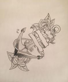 Navy Anchor, Old School, Tattoos, Art, Art Background, Tatuajes, Tattoo, Kunst, Performing Arts