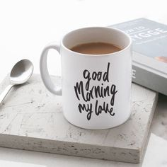 Gifts For Him : World's best dad mug Special Gifts For Him, Great Gifts For Dad, Love Gifts, Gifts In A Mug, Gifts For Kids, Unique Gifts, Good Morning Quotes For Him, Good Morning Cards, Good Morning My Love