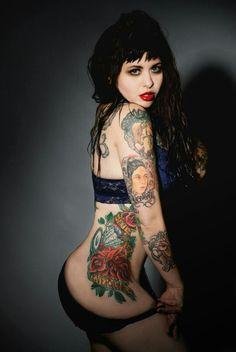 Kitty Crystal #inked girl