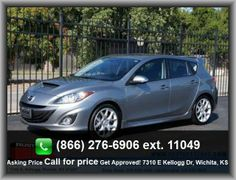 2012 Mazda MAZDASPEED3 Touring Wagon  Abs And Driveline Traction Control, Turn Signal In Mirrors, Front Leg Room: 42.0, Independent Rear Suspension, Metal-Look Dash Trim, 281 Lbs.,