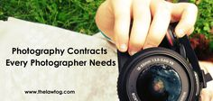 A list of all business forms and photography contracts that are a necessity for running a photography business!