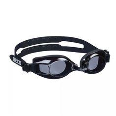 Zwarte zwembril Newport voor volwassen zwemmers. Zeer elastische silicone hoofdband voor optimaal comfort. Nú zwembril met korting!