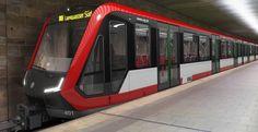 NUREMBERG New inspiro trains for Nuernberg métro