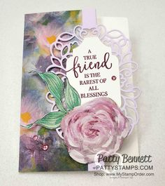 Sharing paper crafting tips and card making ideas featuring rubber stamps and accessories. Friendship Flowers, Friendship Cards, Healing Hugs, Wink Of Stella, Stampin Up Catalog, Card Envelopes, Note Paper, Ink Pads, Colored Leaves