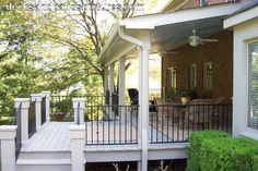 Covered Deck Designs | Covered Porch Designs