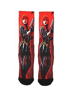 Marvel Black Widow Crew Socks,