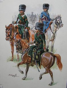 Chasseurs a cheval de la Garde, Waterloo. Patrice Courcelle. Waterloo 1815, Battle Of Waterloo, Military Art, Military History, Bataille De Waterloo, Empire, French Army, Napoleonic Wars, Warfare