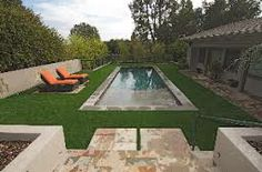 Synthetic Grass is Great Around Pools STdepot.com 866-655-3040