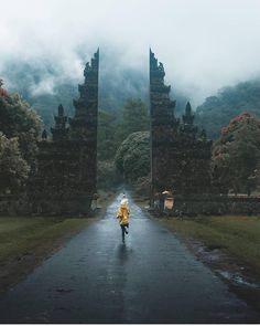 Hindu Gates. Bali, Indonesia.