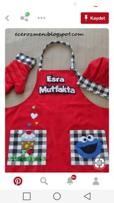 Toddler Apron, Kids Apron, Jean Apron, Free Printable Sewing Patterns, Childrens Aprons, Adult Bibs, Table Runner And Placemats, Cute Aprons, Sewing Aprons