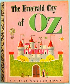 1952 The Emerald City of OZ  L. Frank Baum  #151 Little Golden Book 1st Edition by BasketCaseBooks