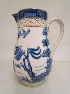 VINTAGE BOOTHS REAL OLD WILLOW JUG / PITCHER *57